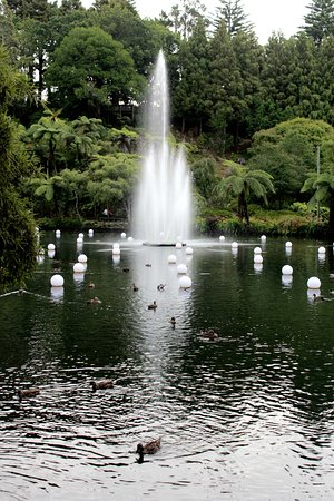 New Plymouth, Nueva Zelanda: Fountain