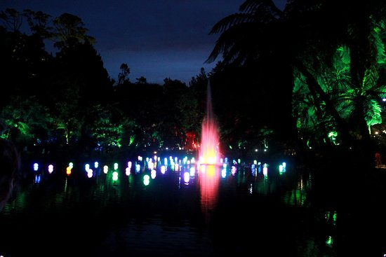 New Plymouth, Nueva Zelanda: Festival of lights