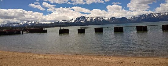 view from lakeside beach picture of lakeside beach south lake rh tripadvisor com