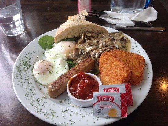 Te Aroha, New Zealand: Vegetarian Breakfast