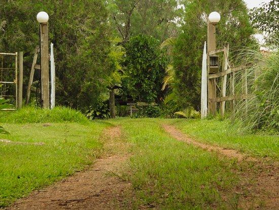 Hotel Fazenda Serra Da Cachoeira : Entrada da pousada