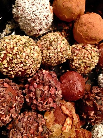 Westhampton Beach, Estado de Nueva York: Best Raw Vegan Truffles in the game!