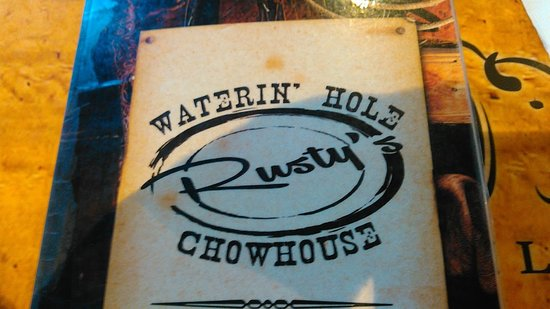 New Richmond, WI: Menu Cover.