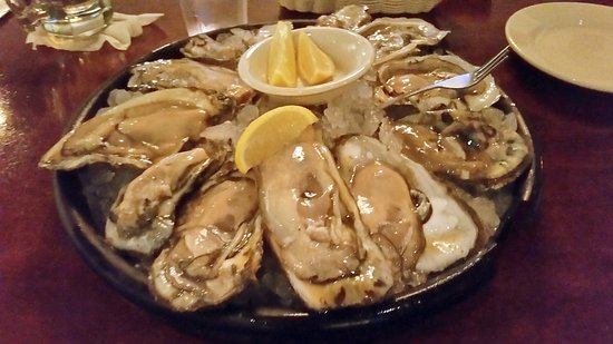 Dupuy's Oyster Shop : How big can they get?