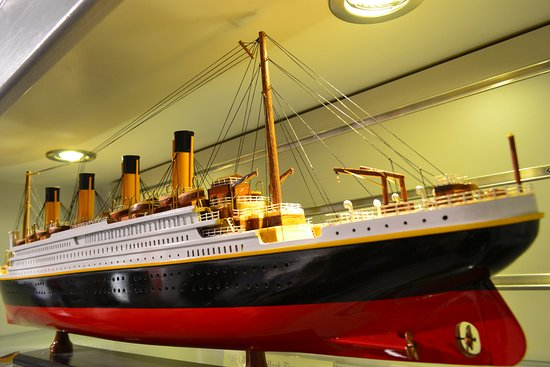 Robin Hill Guesthouse: Pic from Titanic Museum