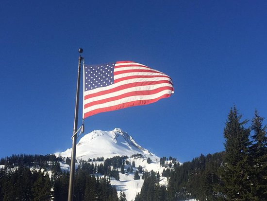 Mount Hood Meadows: 'Murica!!
