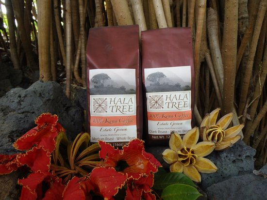 Captain Cook, Havai: Certified organic award winning 100% Kona coffee