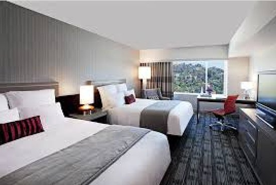 hollywood sign view 2 queen room picture of loews hollywood hotel rh tripadvisor com
