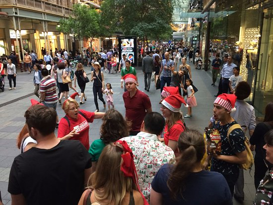 Sydney Urban Adventures: Learning about the pedestrian shopping streets of Sydney