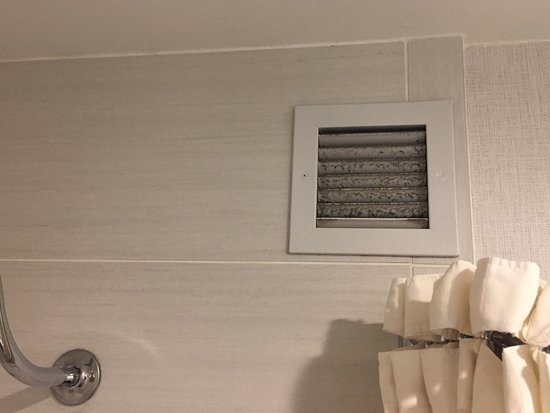 Bathroom Vent Needs Some Cleaning Picture Of Embassy Suites By - Bathroom vent cleaning