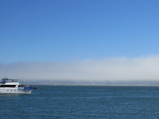 La ciudad de San Francisco vista desde Sausalito, al otro lado de la bahía.
