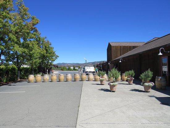 รัทเธอร์ฟอร์ด, แคลิฟอร์เนีย: Ambiente encantador que te hace sentir realmente dentro de un winery.