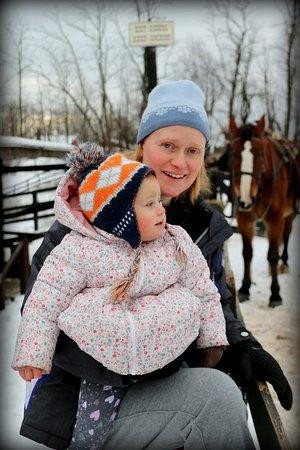 Kerhonkson, NY: Having fun with the horses
