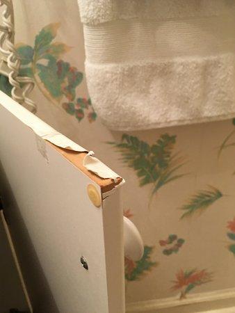 peeling laminate on a bathroom vanity door picture of the rh en tripadvisor com hk