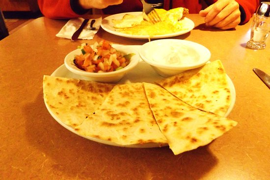 Cathedral City, Californie : Cheese quesadilla