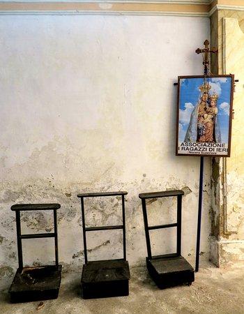 Hotel Castello dei Principi: Chapelle privé sur le site