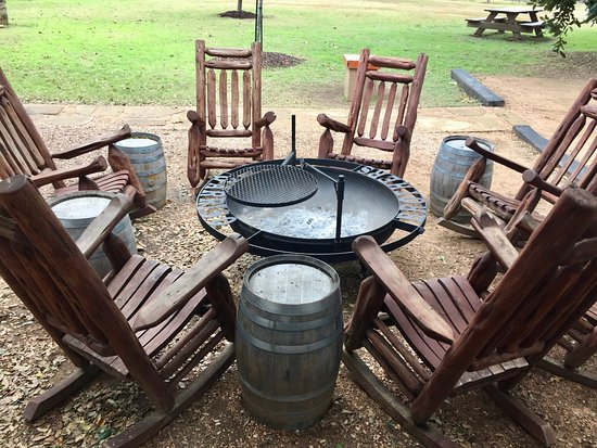 fire pit picture of garrison brothers distillery hye tripadvisor rh tripadvisor co nz