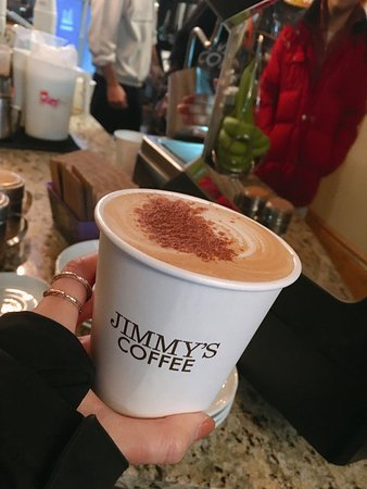 Photo of Cafe Jimmy's Coffee at 107 Portland St, Toronto M5V 2N3, Canada