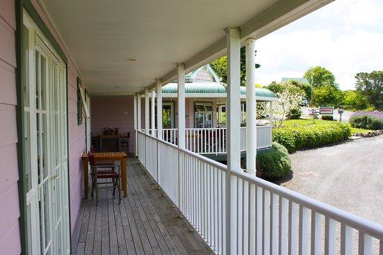 Matakohe, Νέα Ζηλανδία: Veranda