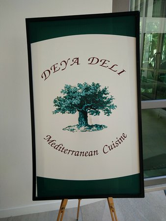 DEYA DELI: In front of the entrance