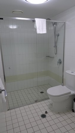 Oaks Felix: First bathroom with shower