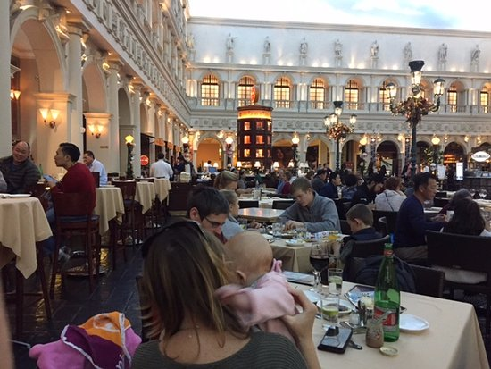 Dining Area Square Picture Of Canaletto Las Vegas