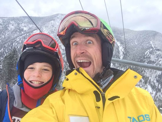 Taos Ski School: Trevor with my 11 year old