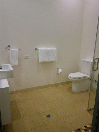 โฮเต็ล ขาร์เลส: Bathroom