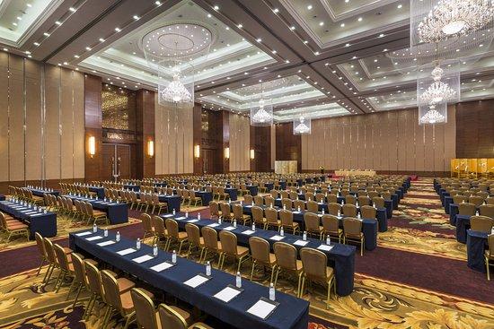 Jianyang, Chiny: Island Ballroom (2000 sq.m pillar-free)