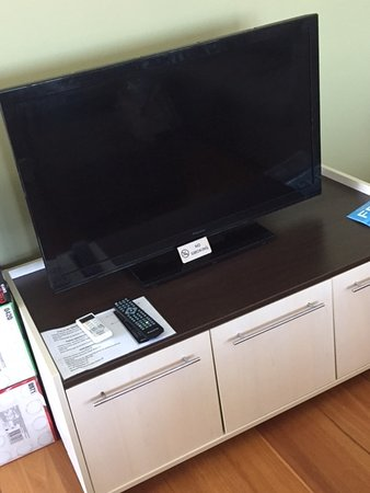 Diamond Beach, Αυστραλία: Dirty, smeared TV