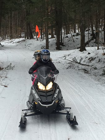 Plymouth, VT: Double Snowmobile