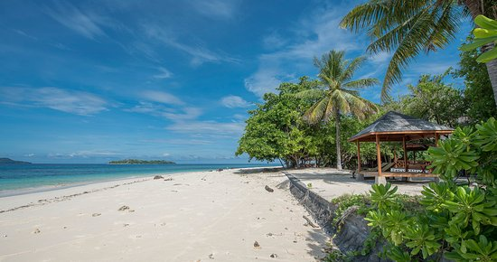 Gangga Island Resort & Spa: The Private Beach served only for our guest Inhouse