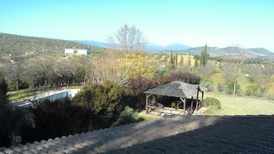 Villanueva de Tapia, إسبانيا: vue de la chambre