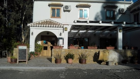 Villanueva de Tapia, إسبانيا: entrée de l'hôtel