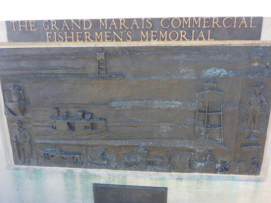 Grand Marais, MI: Fishermen's Memorial
