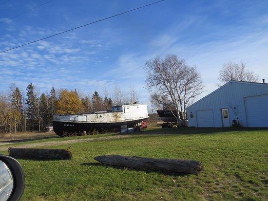 Grand Marais, MI: Local Boats