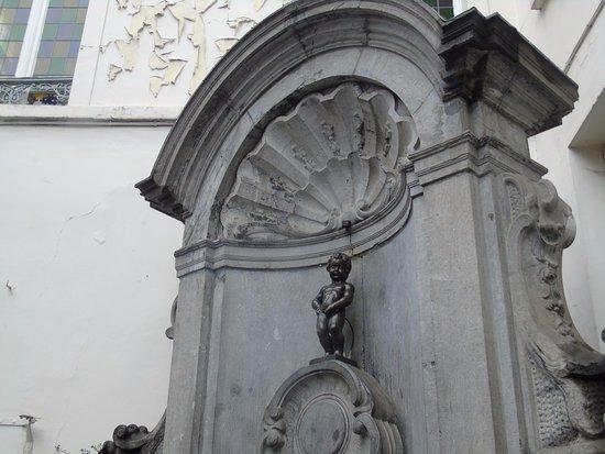 Ruisbroek, Belgium: Manneken pis