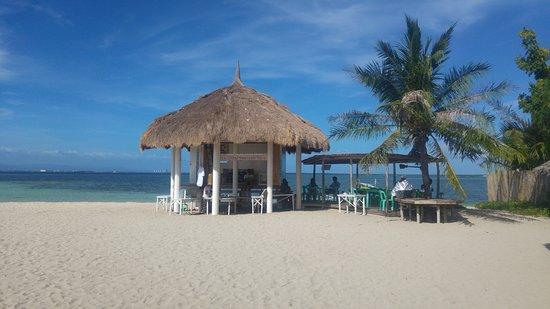 Caohagan Island: beach