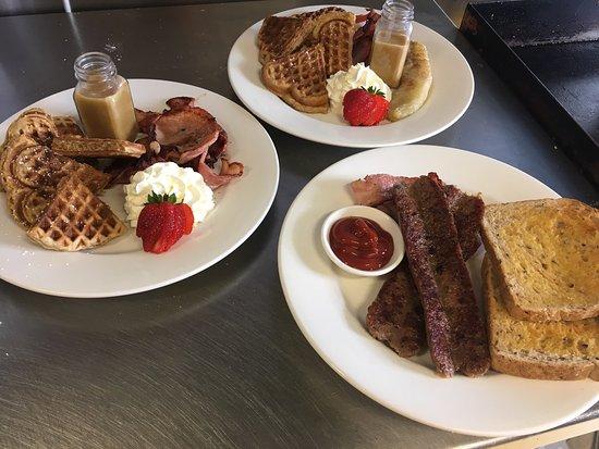 Stanley, Australia: Moby Dicks Breakfast Bar