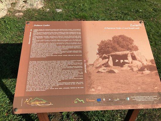 Calangianus, Italy: Cartello turistico