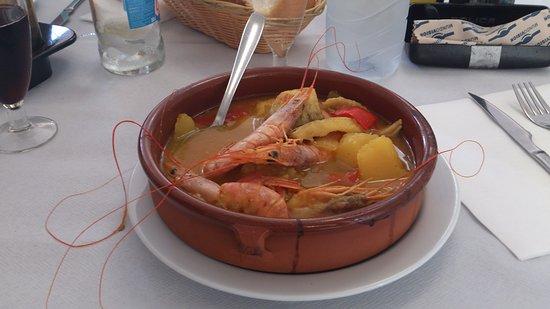 Cunit, España: Caldereta