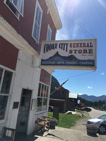 Cooke City, MT: First stop in town!
