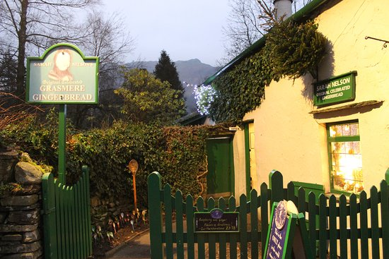 Grasmere, UK: Gingerbread shop