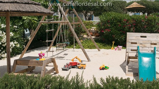 Moncarapacho, Portugalia: Playground for young guests