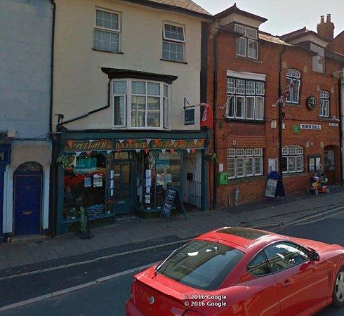 The Bakehouse, High Street Cullompton. courtesy of Google Earth.