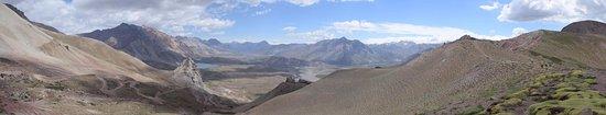 Las Lenas, Αργεντινή: Vista desde el punto más alto del camino