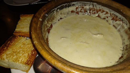 Riverview Hotel : Claypot cheese