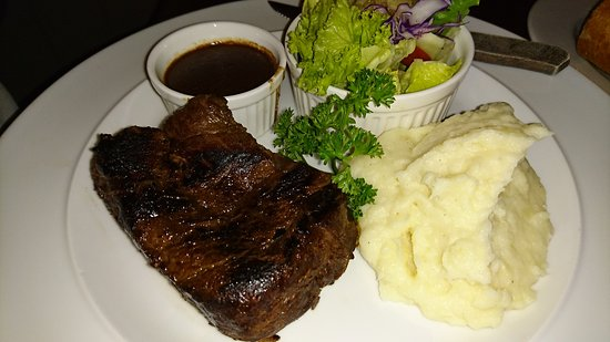 Riverview Hotel : Fillet steak