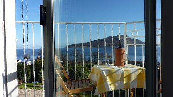 Lamlash, UK: Apartment Eagle balcony