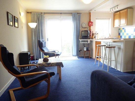 Lamlash, UK: Apartment Eagle lounge/ kitchen
